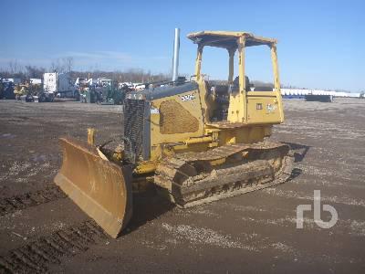 2002 JOHN DEERE 550H LT Crawler Tractor