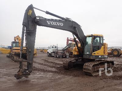 2012 VOLVO ECR235CL Hydraulic Excavator