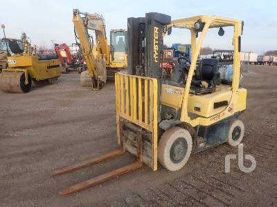 2015 HYSTER H50FT 4600 Lb Forklift