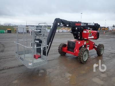2018 MANITOU MAN GO 33 Articulated Boom Lift
