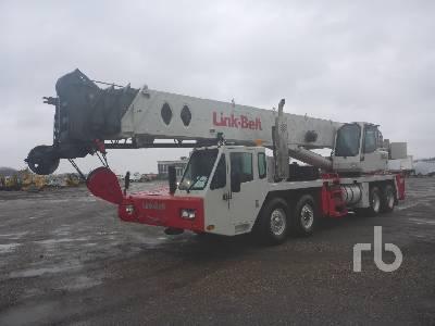 2000 LINK-BELT HTC8650 50 Ton 8x4 Hydraulic Truck Crane