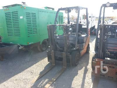 2008 TOYOTA 8FGCU25 5000 Lb Forklift