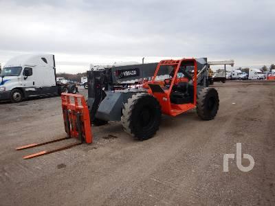 2014 SKYJACK VR843D 8000 Lb 4x4x4 Telescopic Forklift
