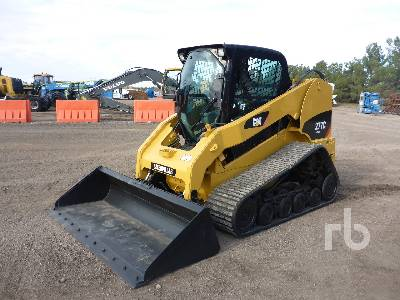 2010 CATERPILLAR 277C 2 Spd Multi Terrain Loader