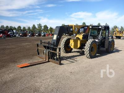 2016 CATERPILLAR TL943C 9000 Lb 4x4x4 Telescopic Forklift