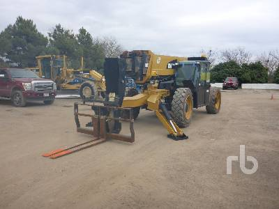 2014 CATERPILLAR TL1255C 12000 Lb 4x4x4 Telescopic Forklift