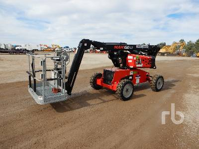 2018 MANITOU MAN'GO 33 4x4 Articulated Boom Lift