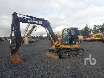 2012 JOHN DEERE 85D Midi Excavator (5 - 9.9 Tons)