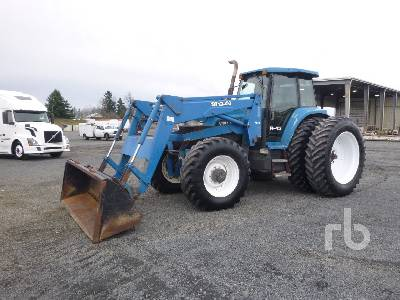 1998 NEW HOLLAND 8770 MFWD Tractor