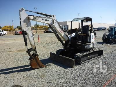 2012 BOBCAT E45 Mini Excavator (1 - 4.9 Tons)