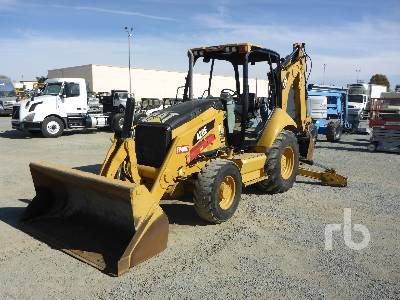 2010 CATERPILLAR 420E 4x4 Loader Backhoe