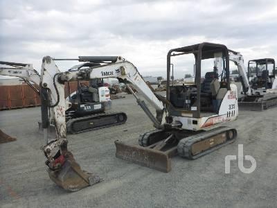 2001 BOBCAT 331D Mini Excavator (1 - 4.9 Tons)