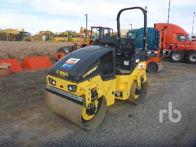 2019 BOMAG BW120AD-5 Tandem Vibratory Roller