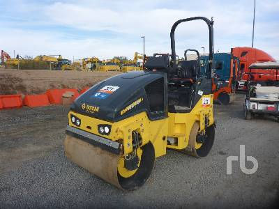 2018 BOMAG BW120AD-5 Tandem Vibratory Roller