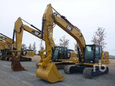 2018 CATERPILLAR 320 NG Hydraulic Excavator