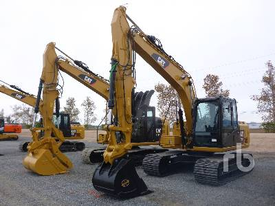 2018 CATERPILLAR 313FL GC Hydraulic Excavator