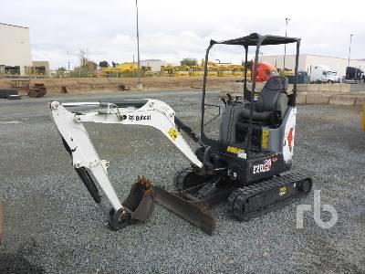 2015 BOBCAT E20 Mini Excavator (1 - 4.9 Tons)