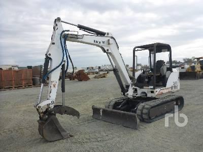2002 BOBCAT 341D Midi Excavator (5 - 9.9 Tons)