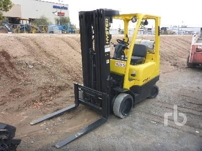 2007 HYSTER S50FT 5000 Lb Forklift
