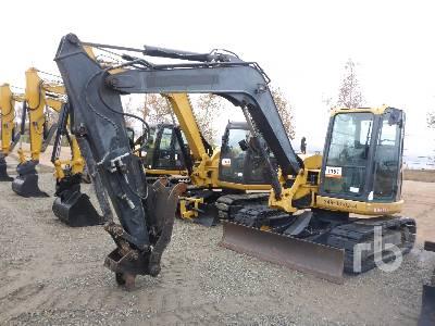 2013 JOHN DEERE 85D Midi Excavator (5 - 9.9 Tons)