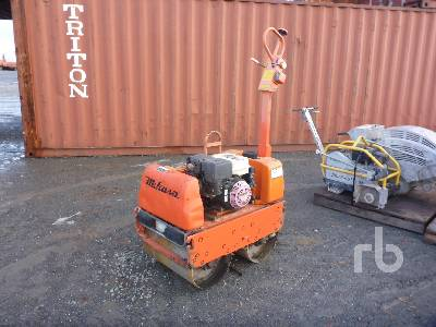 2012 MIKASA MRH800GS Tandem Vibratory Smooth Drum Walk Behind Roller
