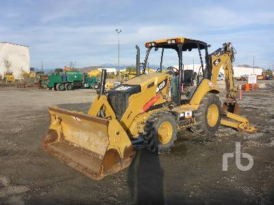 2014 CATERPILLAR 420F 4x4 Loader Backhoe