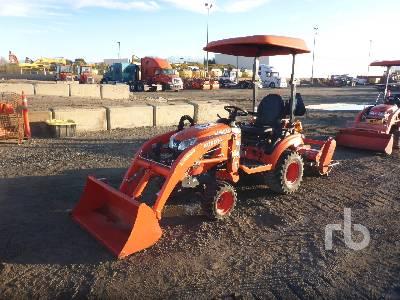 2017 KUBOTA BX2380 4wd hst Utility Tractor