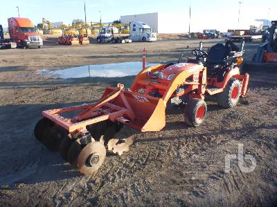 2013 KUBOTA BX2670 4WD Utility Tractor