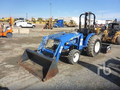 2014 NEW HOLLAND WORKMASTER 35 4wd hst Utility Tractor