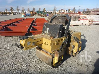 Tandem Vibratory Smooth Drum Walk Behind Roller