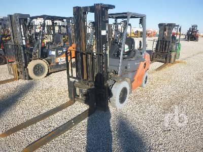 2012 TOYOTA 8FGU25 4500 Lb Forklift