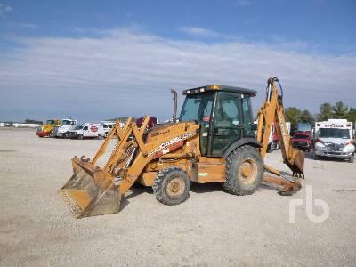 2007 CASE 580SM Series 2 4x4 Loader Backhoe