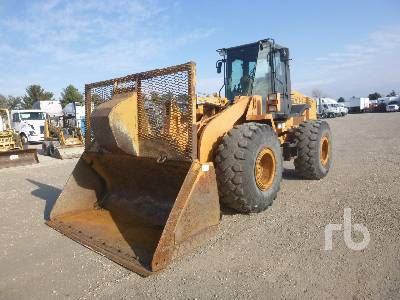 2002 CASE 821C Wheel Loader
