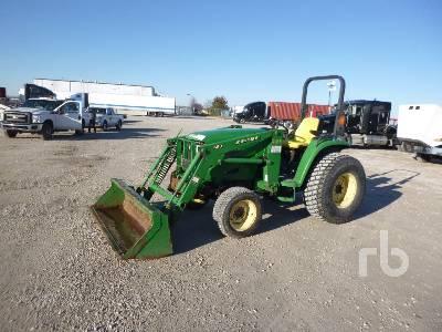 2003 JOHN DEERE 460 2WD Utility Tractor