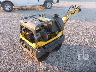2016 WACKER RD7A Vibratory Smooth Drum Walk Behind Roller