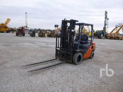 2012 TOYOTA 8FGU25 4350 Lb Forklift