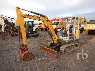 2009 GEHL 3503RD Mini Excavator (1 - 4.9 Tons)