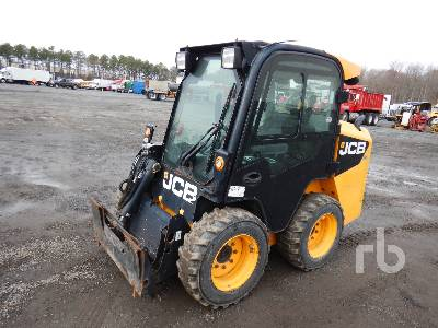 2012 JCB 155 Eco 2 Spd High Flow Skid Steer Loader