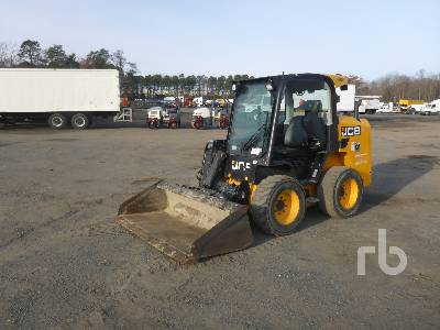 2016 JCB 225 Eco 2 Spd High Flow Skid Steer Loader