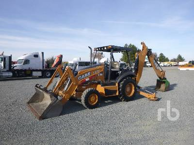 2014 CASE 580N 4x4 Loader Backhoe