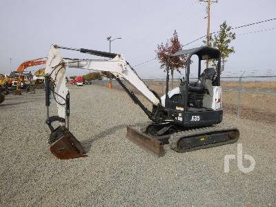 2013 BOBCAT E35 Mini Excavator (1 - 4.9 Tons)