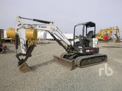 2013 BOBCAT E50 Midi Excavator (5 - 9.9 Tons)
