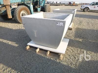 Unused Square Concrete Planter Box Misc Shop Warehouse