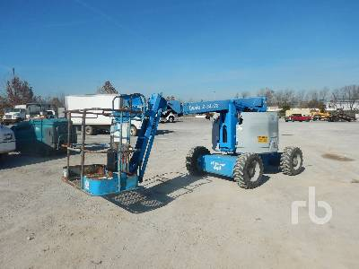 2005 GENIE Z34/22 4x4 Articulated Boom Lift