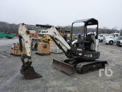 2014 BOBCAT E26 Mini Excavator (1 - 4.9 Tons)