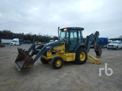 2011 JOHN DEERE 310J 4x4 Loader Backhoe