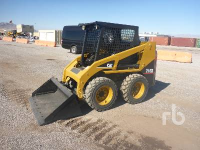 Caterpillar 216B Skid Steer Loader Specs & Dimensions :: RitchieSpecs