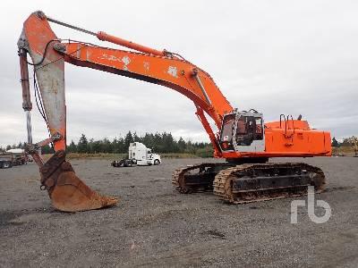 Hitachi ZX650LC-3 Hydraulic Excavator Specs & Dimensions