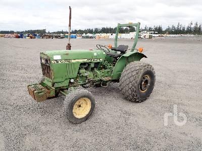 John Deere 3520 Utility Tractor Specs & Dimensions