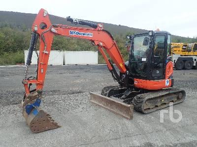 2016 KUBOTA U48-4 Mini Excavator (1 - 4.9 Tons)